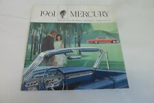 Vintage 1961 Mercury Meteor 600 800 Monterey Park Lane Station Wagon Brochure