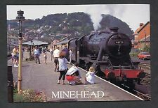 C2000 View of 8F No 48773 Steam Loco at Minehead Station.