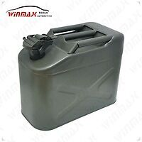 10 Liter Jerry Can Type Fuel Reserve Tank Military Green Brand New