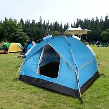 Instant Automatic Pop Up Backpacking Camping Hiking 3-4 Persons Tent Waterproof