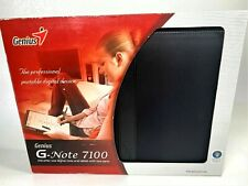 Genius G-Note 7100 Letter Size Digital Note Pad Tablet Writer with 2 Pens