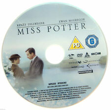 Miss Potter DVD R2 PAL - 2007 Renee Zellweger Ewan McGregor - DISC ONLY