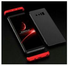 IPhone 5 Metallic 360 Full Cover Case - RED
