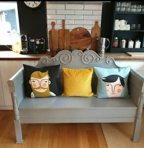 ☆ Gorgeous Grey Gustarvian Bench/Seating With Storage - FREE DELIVERY ☆