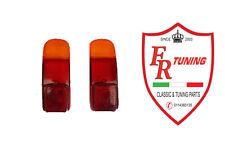 COPPIA PLASTICHE FANALI/FARI POSTERIORI CON CATADIOTTRI FIAT 500 D