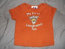 Texas Longhorns Boys 3/6 M Shirt (My First Longhorns Tee)