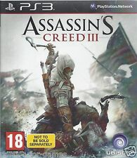 ASSASSIN'S CREED III (3) for Playstation 3 PS3 - with box & manual