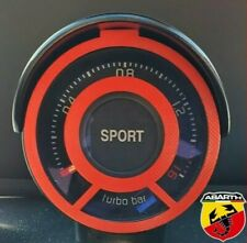 Red- Abarth 595 Turbo Gauge Cage