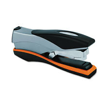 Swingline Optima Desk Stapler, 40 Sheet Capacity, Silver/Orange/Black SWI87845