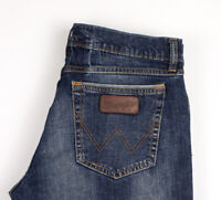 Wrangler Herren Gerades Bein Jeans Stretch Größe W32 L32 ASZ402