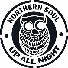NORTHERN SOUL KEEP THE FAITH CAR SCOOTER STICKER VINYL DECAL LAPTOP MOTOWN
