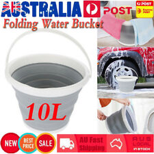 10L Portable Folding Collapsible Water Tank Bucket for Kitchen Garden Camping AU