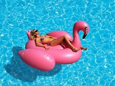Jumbo Flamingo Pool Float For Adults and Kids Over 6 Years