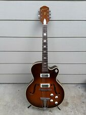 60's Harmony H68 Electric Archtop Guitar