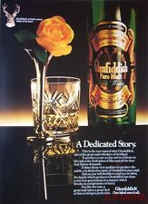 1980/81 GLENFIDDICH Pure Malt Scotch Whisky Advert #6 - Original Print AD