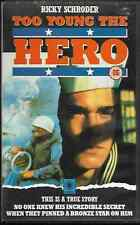 TOO YOUNG THE HERO VHS VIDEO PAL RICKY SCHRODER ORIGINAL BIG BOX VIDEO VGC