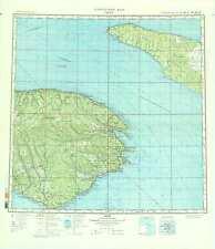 Russian Soviet Military Topographic Maps - GASPE (Canada), 1:500K, ed. 1986