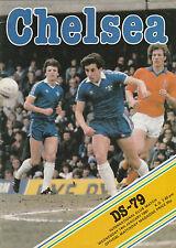 Orig.PRG   14.01.1981   FC CHELSEA - DRECHT STEDEN 79 (FC Dordrecht)  !!  SELTEN