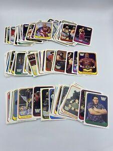 1991 Merlin WWF Italian Hulk Hogan Andre Macho Man 111 Card Lot - Invest!