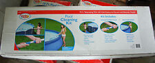Pool Maintenance Kit Swimming Vacuum Head and skimmer and Telescoping Pole