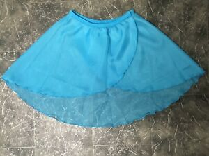 "Ballet Dance Wrap Over Skirt Uniform Tulip Age 2-3 / 20"" Waist - New"