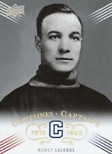 2008-09 Montreal Canadiens Centennial Captains 1910 Newsy Lalonde #202