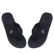 Summer Beach Men's Pool Flip Flops Beach Slippers Home Casual Sandals Shoes