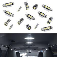 17x New 12V Error Free Premium White Car Interior LED Light Bulbs Lamp Practical