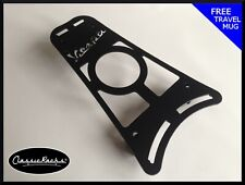 Vespa PRIMAVERA / SPRINT floor board rack CUP HOLDER- satin black CLASSIC RACKS