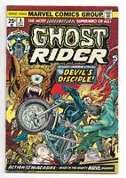 Ghost Rider vol. 1 # 8 Marvel Comics 1974 Jim Mooney art / Satan / Inferno