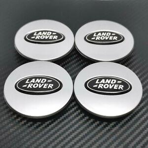 4x Land Rover Centre Caps Wheel Hub 63mm Discovery Freelander Range Rover Sport