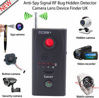 Anti-Spy Bug Detector CC308+ Search Mini Wireless Camera Hidden Signal GSM