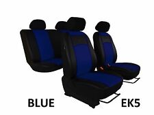 FORD FIESTA Mk 7 2008-2017 ECO LEATHER SEAT COVERS MADE TO MEASURE FOR CAR