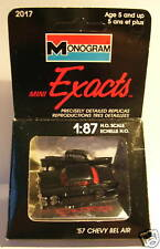 EXACTS MONOGRAM HO 1/87 CHEVY BEL AIR 1957 NOIRE IN BOX