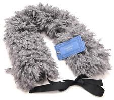 Winter Simply Vera Wang Womens Gray Neck Wrap Faux Fur Scarf Comfortable 5298