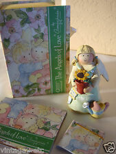 """New GNOMY'S DIARIES The Angels of Love by ANNEKABOUKE """"Love Grows"""" Figurine"""