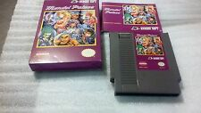 MENDEL PALACE COMPLETE CIB NES nintendo game collectors