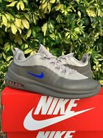 Nike Mens Air Max Axis Premium Running Shoe Moon Particle/Racer Blue Size 10.5