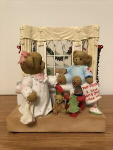 CHERISHED TEDDIES MUSIC BOX Christmas Eve Is A Night For Magic 4010092 2008