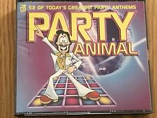 PARTY ANIMAL 52 GREATEST PARTY ANTHEMS  3 CD SET DJ DISCO PARTY