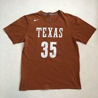 Nike Kevin Durant #35 Texas Longhorns University T-Shirt - Size Large