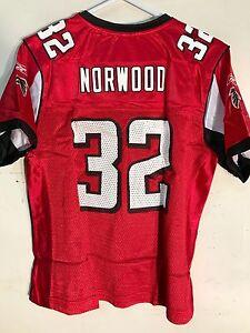 Reebok Women's NFL Jersey Atlanta Falcons Jerious Norwood Red sz S