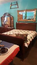 Antique Sleigh Bed