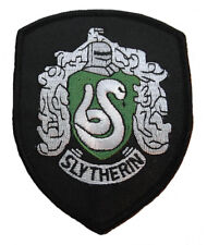 harry potter haus slytherin robe iron-on/sew-on bestickt patch