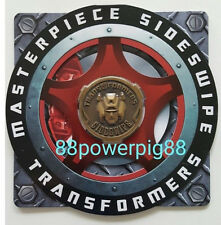 Transformers Masterpiece MP-12A Sideswipe Exclusive Collectors Coin US Seller