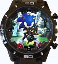 Sonic Hedgehog New Gt Series Sports Unisex Gift Wrist Watch