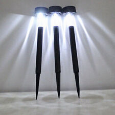 Outdoor Solar LED Lawn Light Small Tube Light Pathway Garden Yard Lamp 1pc New