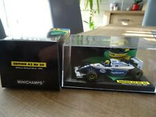 MINICHAMPS 1:43 WILLIAMS RENAULT FW16 A. SENNA 1994 ROTHMANS EDITION N° 20