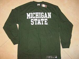 MSU MICHIGAN STATE SPARTANS  Long Sleeve T-Shirt NEW / TAG  sz....  XLarge   XL