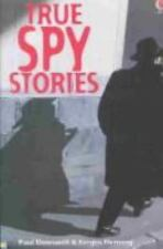 True Spy Stories (True Adventure Stories)-ExLibrary